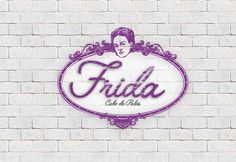 Logotipo frida Design, Logos, Design Comics