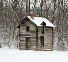 A log cabin in Tennessee