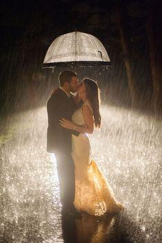 Beijo na chuva...humm...