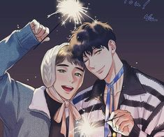 Image uploaded by Find images and videos about cute and jb alex on We Heart It - the app to get lost in what you love. Manhwa Manga, Manga Anime, Viktor X Yuri, Persona 5 Anime, Fanart, Haikyuu Yaoi, Cute Gay Couples, Animes Wallpapers, Shounen Ai