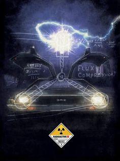 Geniales posters de películas ilustrados por Paul Shipper. Back to The Future