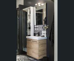Salle de bains Noir Chic