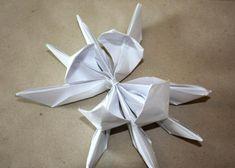 Fotopostup na lekno z papiera 17 3d Origami, Wedding, Valentines Day Weddings, Hochzeit, Weddings, Mariage, Marriage, Chartreuse Wedding