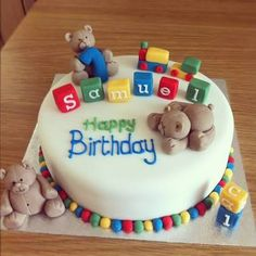 baby 1st birthday cakes - Google Search