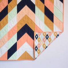 Hey, I found this really awesome Etsy listing at https://www.etsy.com/listing/245121402/baby-toddler-modern-herringbone-quilt