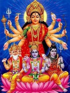 Brahma . Creator of this Universe