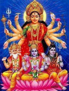 Brahma . Creator of this Universe