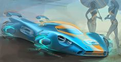 Sketch, Tape, Sleep. Automotive sketch blog by Jack Luttig: 917 Porsche