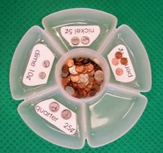 LOVE this coin sort for a center activity or assessment! This site has great ideas already made, ready to print out for special education students. A money sorting center would be perfect for any life skills or secondary special education task. Money Activities, Math Resources, Sorting Activities, Money Games, Measurement Activities, Math Measurement, Autism Activities, School Resources, Classroom Resources