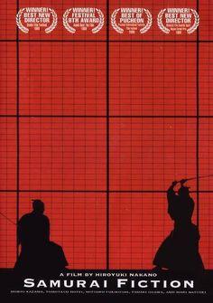 Samurai Fiction - haven't seen it, but cool poster