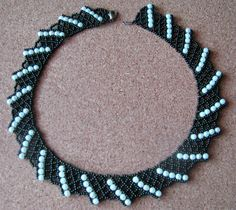 Free pattern for necklace Corfu-1