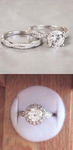 twist wedding ring for woman set / http://www.deerpearlflowers.com/twisted-engagement-rings-wedding-rings/