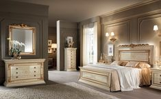 Arredoclassic: Made in italy furniture, for your bedroom, living room e dining room, to give your house a unique and stylish touch. Ivory Bedroom Furniture, Bed Furniture, Furniture Design, Kids Bedroom Sets, Home Bedroom, Bedroom Decor, Italian Furniture, Classic Furniture, Neoclassical Design