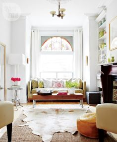 Beautiful and airy, love the combination of colors and style against a white backdrop