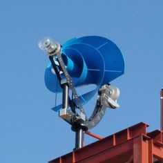 This Silent Rooftop Turbine Could Generate Half of Your Home's Energy http://mic.cm/1klMZwZ