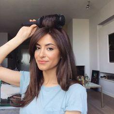 """43.6 χιλ. """"Μου αρέσει!"""", 490 σχόλια - Sarah Angius (@sarahangius) στο Instagram: """"An alternative way of creating volume at the roots using a straightener and a round brush (Arabic)…"""""""