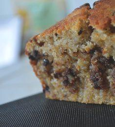 Julinfinity: Miam test #24: Banana bread aux éclats de chocolat noir