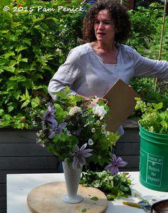 Floral design demo with urban farmer Sarah Nixon: Toronto Garden Bloggers Fling | Digging