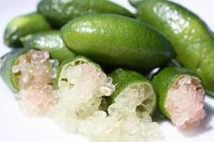 Lime-caviar… aussi délicieux qu'agréable sous la dent… Une explosion d'agrumes!