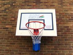 Wall Mounted Basketball, Basketball & Netball Posts, AMV Playgrounds.