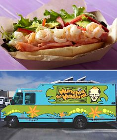 12 Hot L.A. Food Trucks Worth Stalking. The Coolhaus Truck has awesome butter pecan ice cream and really good vegan carrot cake cookies!!!