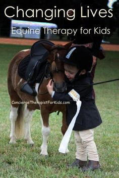 Consider The Curative Factors of Horse Therapy For Kids. Florida Equestrian Foundation in Fellsmere Florida does this sort of work.