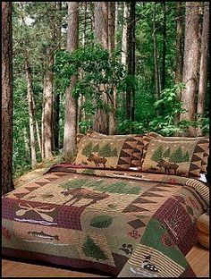 outdoors themed bedroom - Google Search