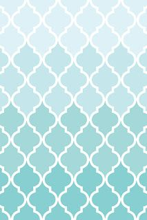 Make it...Create--Printables & Backgrounds/Wallpapers: Quatrefoil...Ombre Pink & Aqua for iPad and iPhones