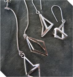 Shop South African Design | Structure Earrings | Meekel