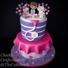 Doc McStuffins Cake #TheCakeBitch #CheekyConfectionery