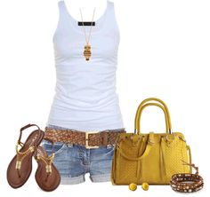 perfect casual summer day!