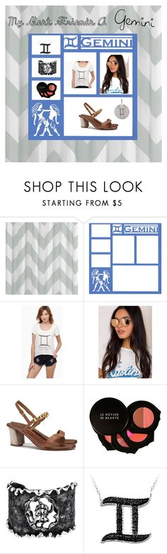 """""""My Best Friends a Gemini"""" by galactic-girl ❤ liked on Polyvore featuring Mi-Zone, Quay, Tory Burch, Le Métier de Beauté, Michael Barin, Pernille Corydon, fashionhoroscope and stylehoroscope"""