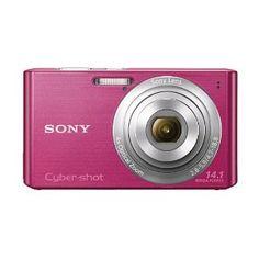 Pink Sony Digital Camera, 14.1 megapixels
