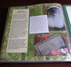 I like this idea for ancestors in which I have no pictures of. I only have gravestone pictures for them.