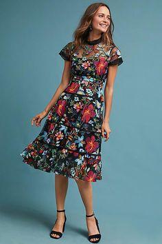 Vone Janine Embroidered Dress #ad