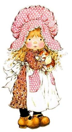 Holly Hobbie - Sarah Kay - - Digital Collage Sheet - Printable - For unlimited number of prints Sarah Key, Holly Hobbie, Sara Key Imagenes, Hobbies To Try, Hobby Horse, Illustrations, Paper Dolls, Cute Kids, Cute Pictures