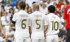 Redondo, Zidane & Figo.