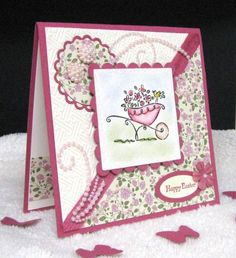 Stampin'B, Flowers For Easter
