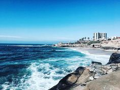 Do you think the ocean is always salty because the land never waves back? #lajolla #photography #color #ocean #waves #water #cali #land #hotel #landscape #salty #birdpoop #seals #blue #beach #lajollalocals #sandiegoconnection #sdlocals - posted by 🔻🔺Sedona/Sadie Atwell🔻🔺  https://www.instagram.com/sedona.atwell. See more post on La Jolla at http://LaJollaLocals.com