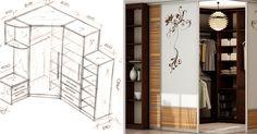 27 fantasztikus ötlet rajzokkal álmaid szekrényének megvalósításához! A kilencediktől valósággal lázba jöttünk…