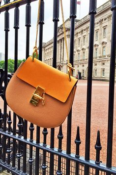 #WhereIsDrew you may ask? In London's Buckingham Palace! Share where your #Chloe Drew bag is and be featured in our #SaksStyle blog!