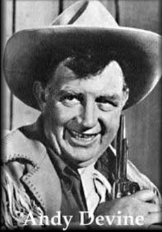 Andy Devine.  A very versatile actor - over 400 films.  In westerns he was always the sidekick with his signature voice.