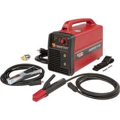 The Lincoln Invertec V155S portable welder does not sacrifice power for portability.