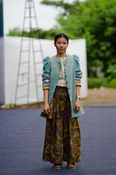 Pattern cutter from Malaysia wearabout india street style blog