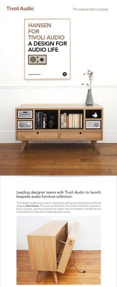 Hansen for Tivoli Audio - A design for audio life