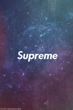Supreme Tumblr iPhone Wallpaper