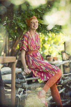 "Kleid ""Masai"" aus Lyocell/Öko-Baumwolle"