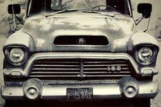 Vintage GMS Truck, Classic Car Photography - Fine Art Print #classictrucks