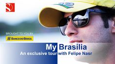 Not only is Brasília the capital of Brazil, it is also Felipe Nasr's home city. It is where he was born, grew up and studied. Felipe gives you an exclusive t. Video Team, F1 Drivers, Formula One, Image Collection, Growing Up, Brazil, Bring It On, Journey, Tours
