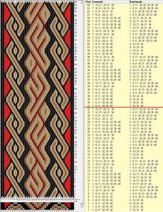 40 tarjetas, 4 colores, repite cada 32 movimientos / sed_756 diseñado en GTT༺❁